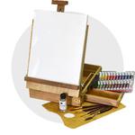 Наборы для живописи масляными красками