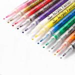 Набор акриловых маркеров универсальных FlySea 0,7 мм 12 цветов FS220712