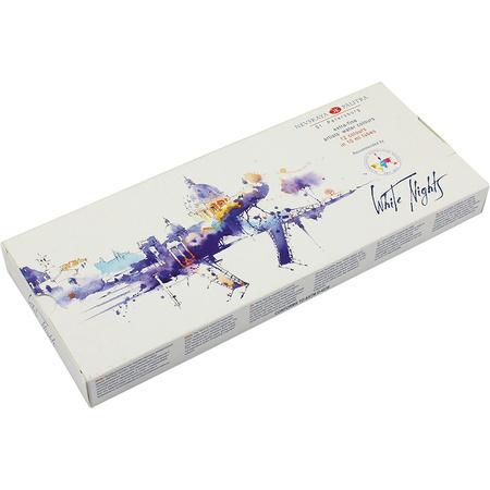 Набор акварельных красок Белые ночи 12 цветов 10 мл тубы в картоне IWS 350407