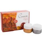 Набор гуашевых красок Сонет Металлик 6 цветов 20 мл баночки в картоне 352453