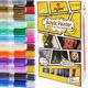 Набор акриловых маркеров универсальных FlySea 0,7 мм 24 цветов FS220724