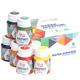 Набор акриловых красок для декора ROSA START матовый 9 цветов 20 мл баночки в картоне 90747128