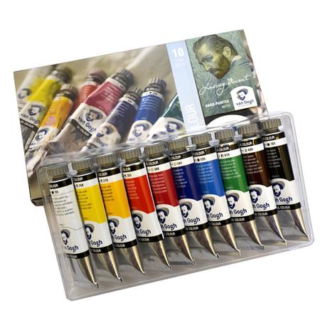 Набор масляных красок VAN GOGH 10 цветов 20 мл тубы в картоне 02820410