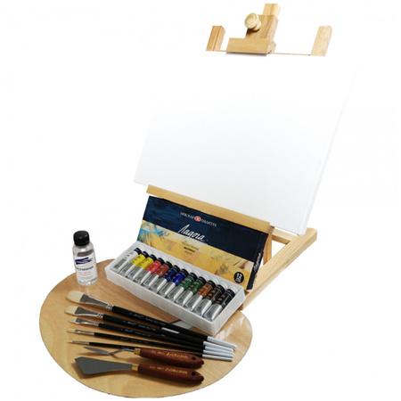 Набор маслянной живописи Ладога set02