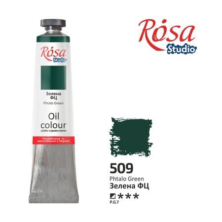 Краска масляная ROSA Studio 60 мл (509) Зеленая ФЦ 326509