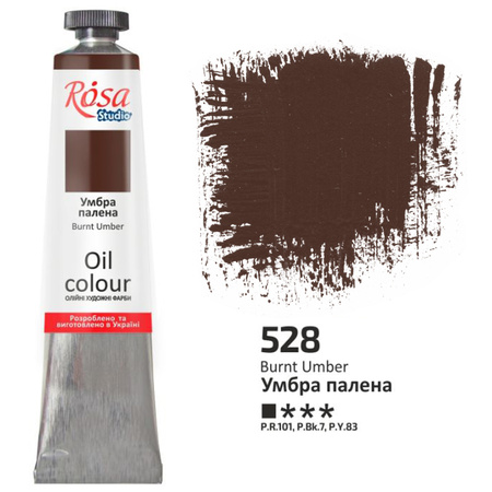 Краска масляная ROSA Studio 60 мл (528) Умбра жженая 326528