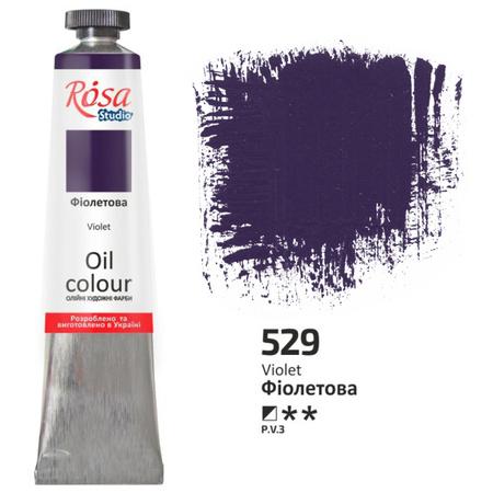 Краска масляная ROSA Studio 60 мл (529) Фиолетовая 326529
