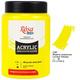 Краска акриловая ROSA Studio 400 мл (430) Желтая лимонная 322419430