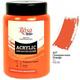 Краска акриловая ROSA Studio 400 мл (407) Оранжевая 322419407