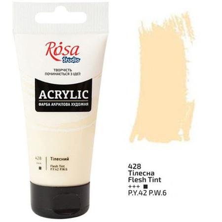 Акриловая краска ROSA Studio 75 мл (428) Телесная 32241428