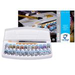 Набор акварельных красок VAN GOGH Specialty 12 цветов 10 мл тубы в пластике + кисть 20800212