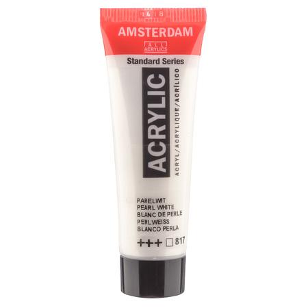 Краска акриловая AMSTERDAM 20 мл (817) Белый перламутровый 17048170