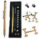 Набор магнитная ручка конструктор Polar Pen + стилус (Золото) PP100G
