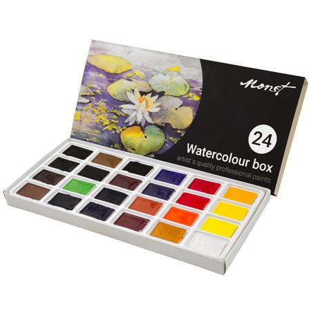 Набор акварельных красок Monet 24 цвета 2,5 мл 50755255