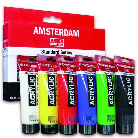 Набор акриловых красок AMSTERDAM STANDARD PRIMARY SET 6 цветов 20 мл тубы в картоне 17820406