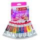 Набор акриловых красок ArtCreation 8 цветов 12 мл тубы в картоне 9021708M
