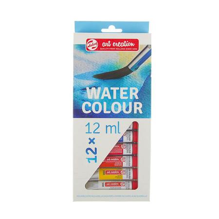 Набор акварельных красок ArtCreation 12 цветов 12 мл тубы в картоне 9022012M