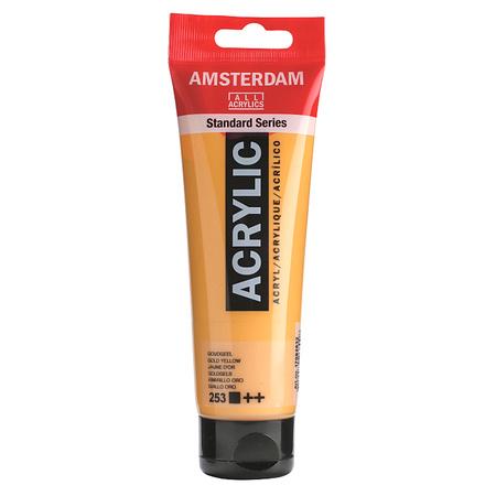 Краска акриловая AMSTERDAM 120 мл (253) Золотисто-желтый 17092532