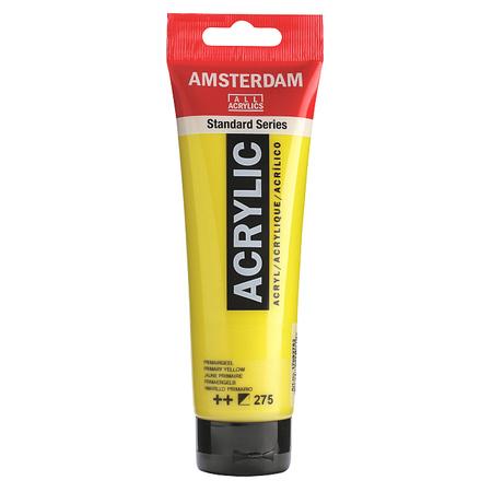 Краска акриловая AMSTERDAM 120 мл (275) Первичный желтый 17092752