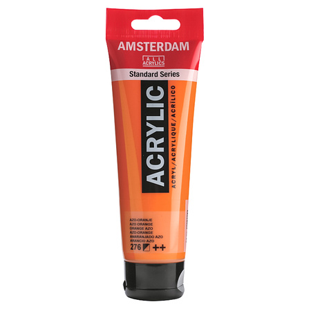 Краска акриловая AMSTERDAM 120 мл (276) AZO Оранжевый 17092762