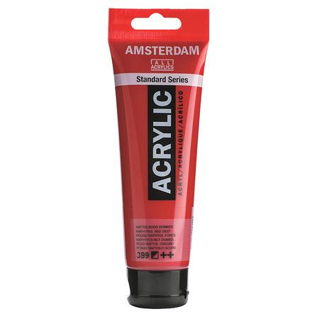 Краска акриловая AMSTERDAM 120 мл (399) Нафтоловый красный темный 17093992