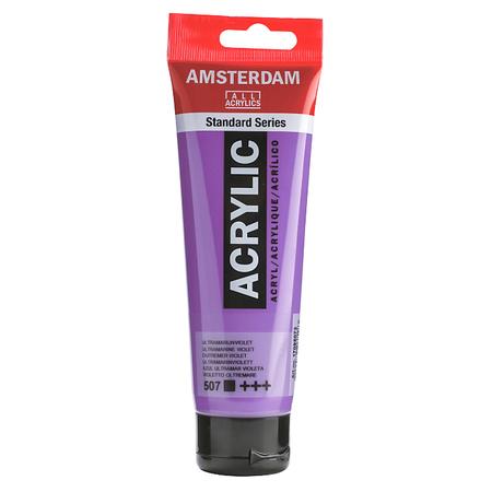 Краска акриловая AMSTERDAM 120 мл (507) Ультрамарин фиолетовый 17095072