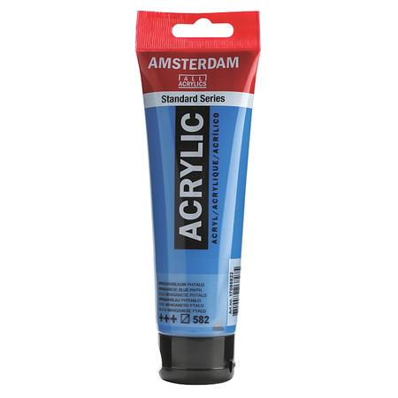 Краска акриловая AMSTERDAM 120 мл (582) Марганец фталово-синий 17095822