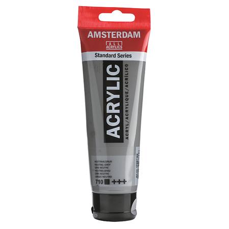 Краска акриловая AMSTERDAM 120 мл (710) Серый нейтральный 17097102