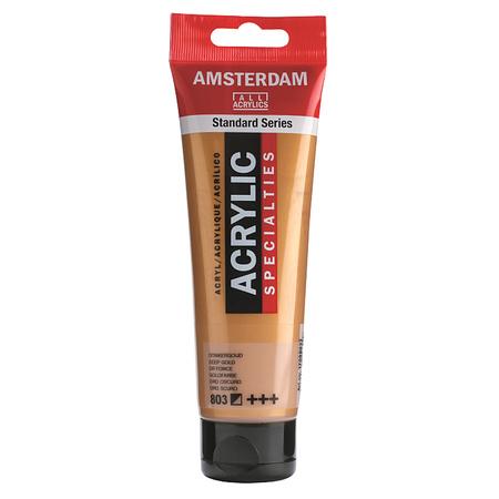 Краска акриловая AMSTERDAM 120 мл (803) Золотой темный 17098032