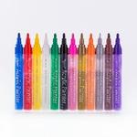 Набор акриловых маркеров универсальных FlySea 2-3 мм 24 цвета FS220324